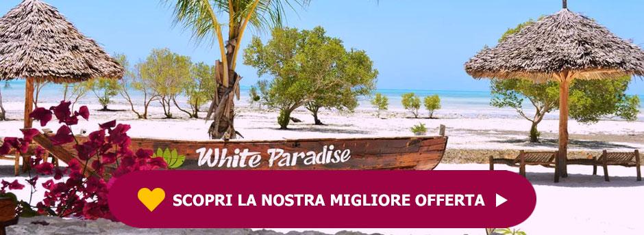 White Paradise Zanzibar 4*+ Safari al Khifaru Park
